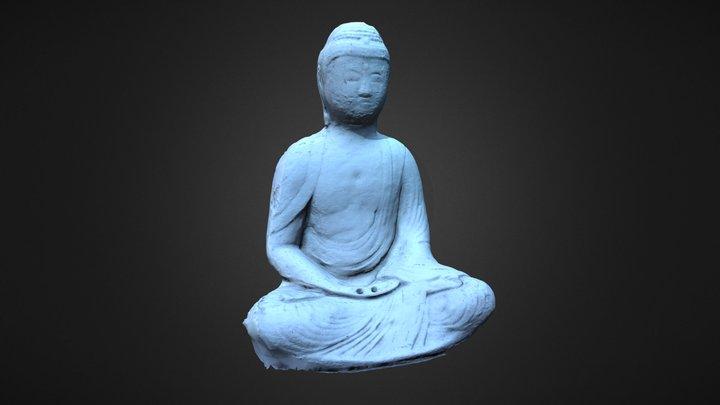 Budha 3D Model