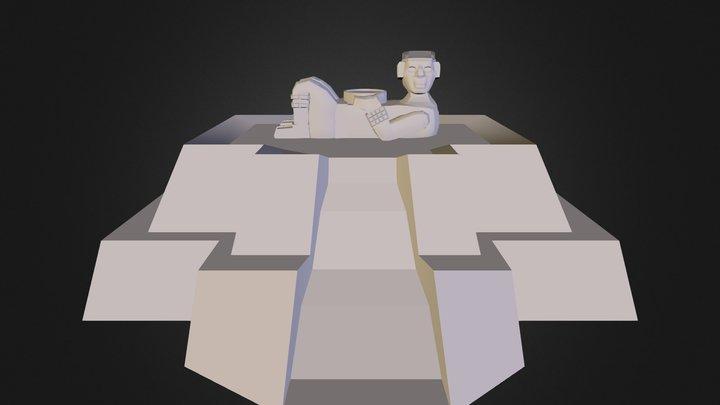 Chacmol 3D Model