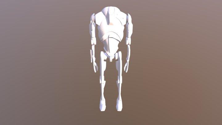SWBF2 B2 Battle Droidgf 3D Model