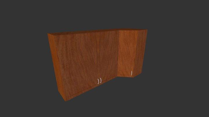 Kitchen Cabinets (corner) 3D Model