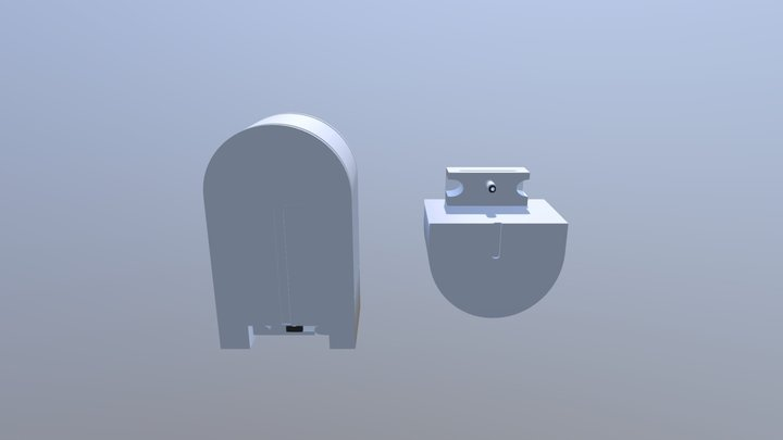 Smart Home Wi-Fi (DC Cable Option) 3D Model