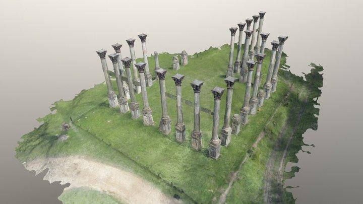 Windsor Ruins - Port Gibson, MS 3D Model