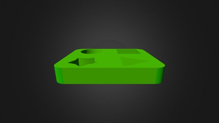 5 2 Passenger Base 3D Model