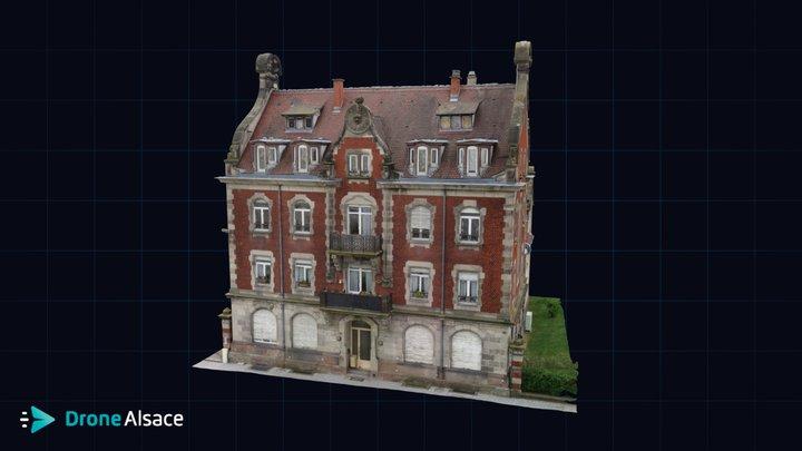 Villa Fischer - Strasbourg 3D Model