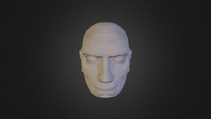 WIP Head 3D Model
