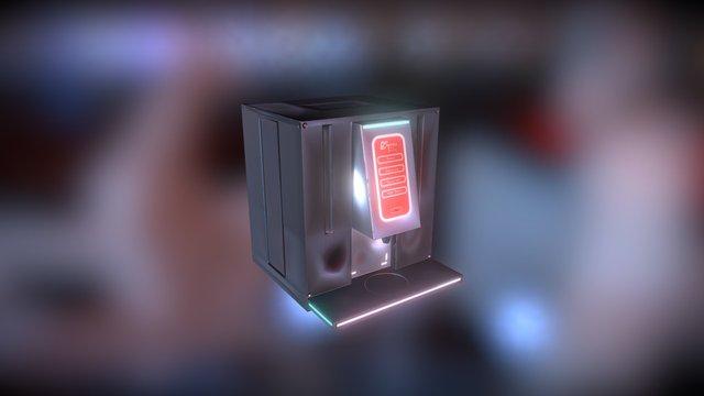 LeSpress Coffee Machine 3D Model