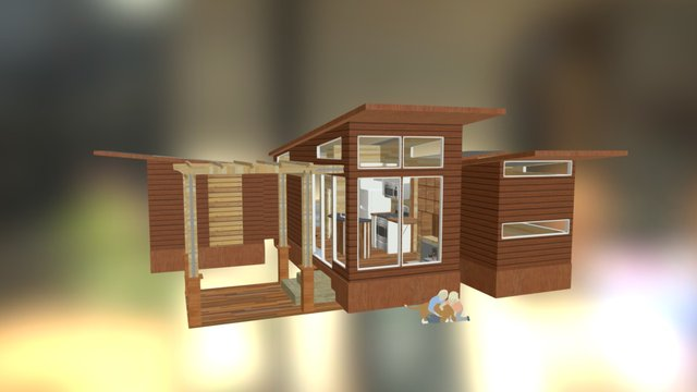 Starter House-Plant System, Large 3D Model