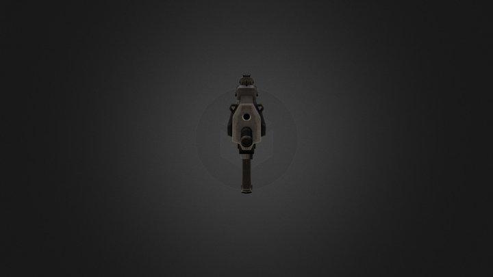 HK MP7 3D Model