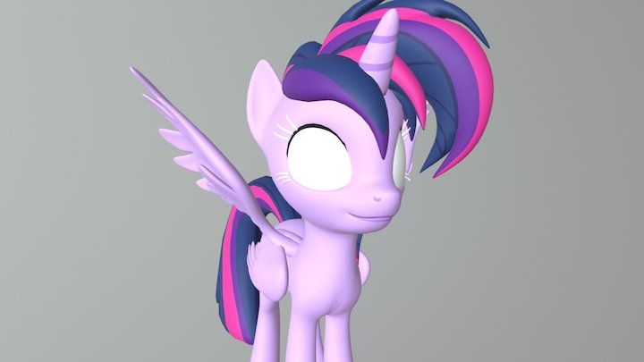 Dj purple 3D Model