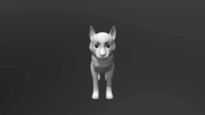 Husky 3D Model