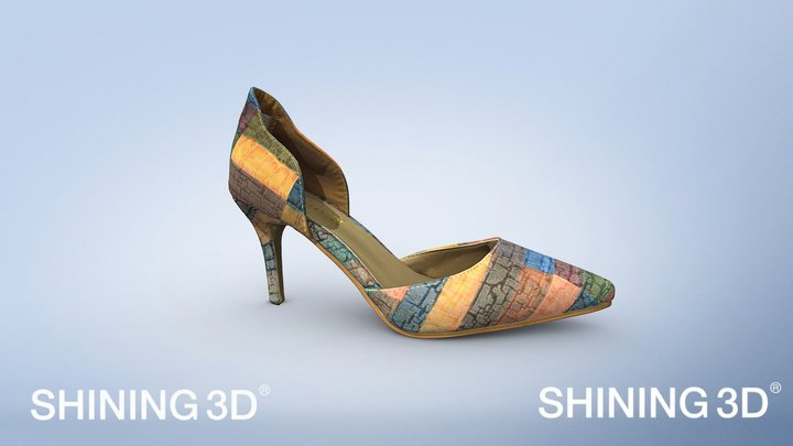 shoes-high heels 3D Model