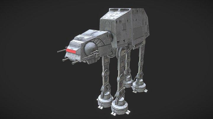 Att-Att Walker 3D Model