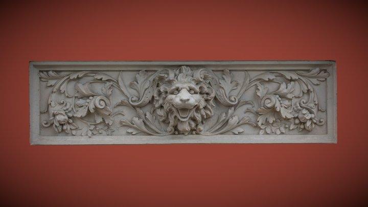 Stuckrelief in Weimar 3D Model