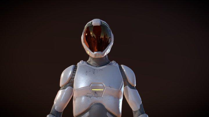 Space suit NC 2020 3D Model