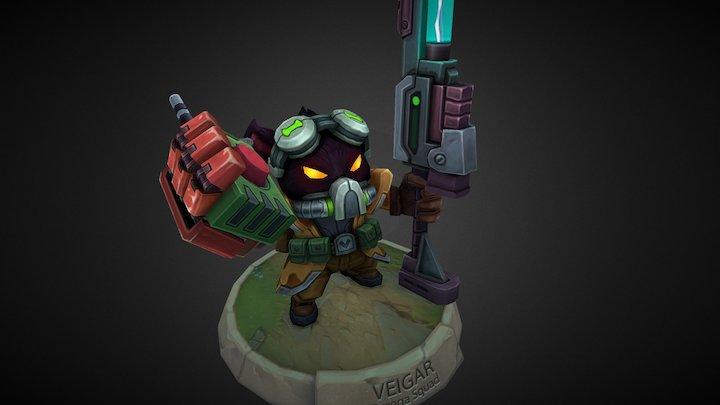 Veigar_Omega Squad 3D Model