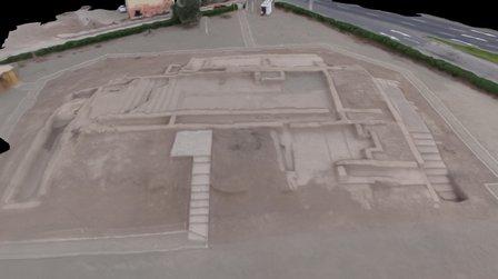 Huaca Palomino 3D - Lima 3D Model