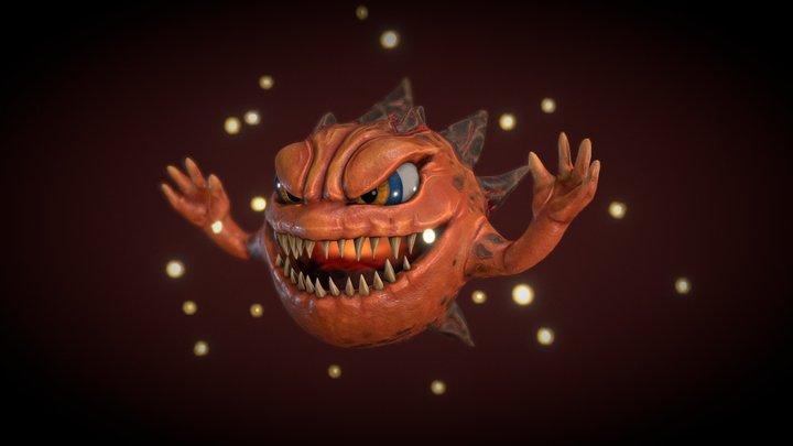 Bomb Final Fantasy 3D Model