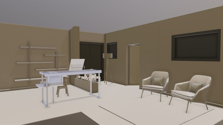 Space planning 3D Model