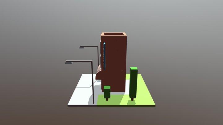 Hostel 3D 3D Model