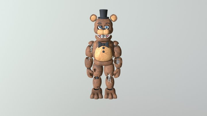 Withered Freddy 3D Model