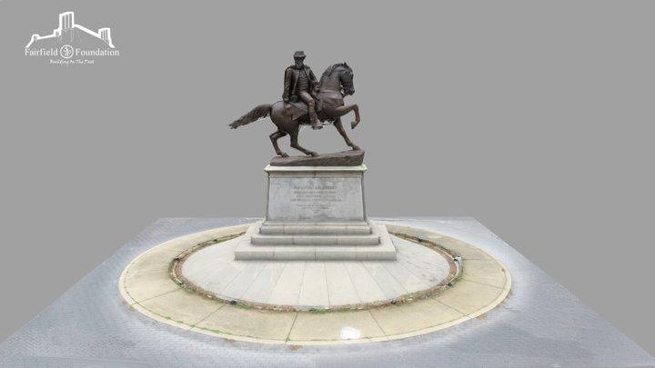J.E.B. Stuart Monument 3D Model