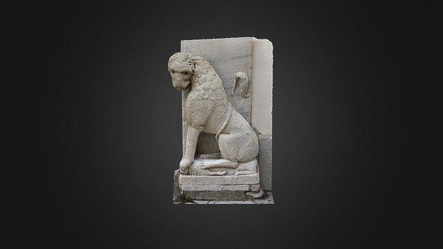 """Scultura di """"Leone"""" - XII secolo 3D Model"""