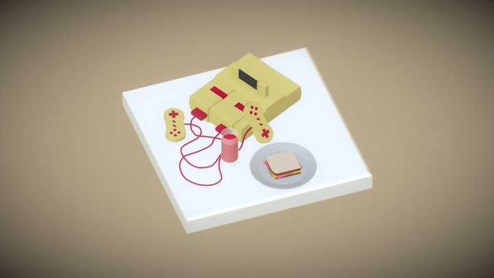 Lunch time! 3D Model