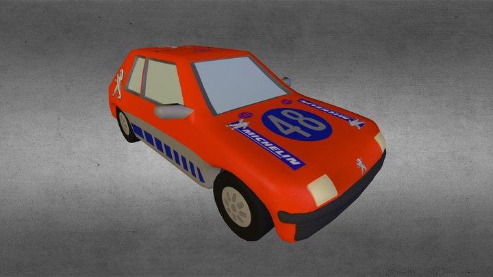 scalextric car 3D Model