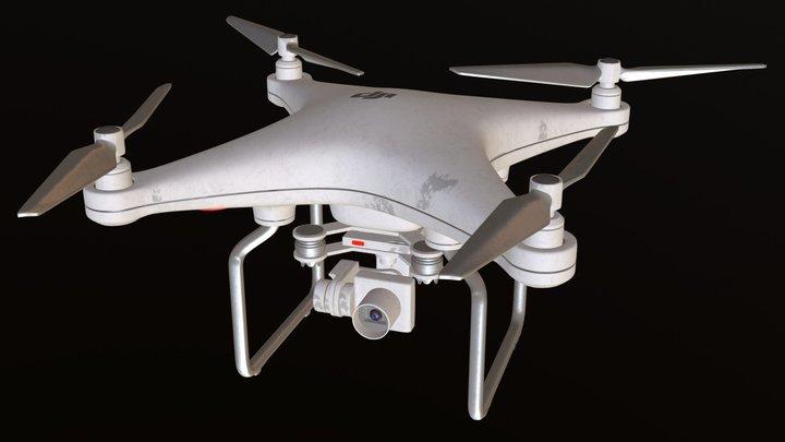 DJI Phantom 3 3D Model