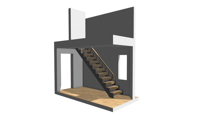 Williams 3D replacement Staircase 3D Model