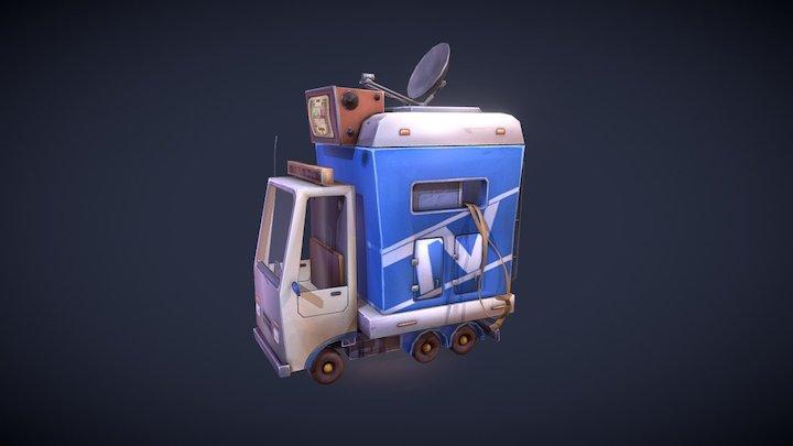 Minicar 3D Model