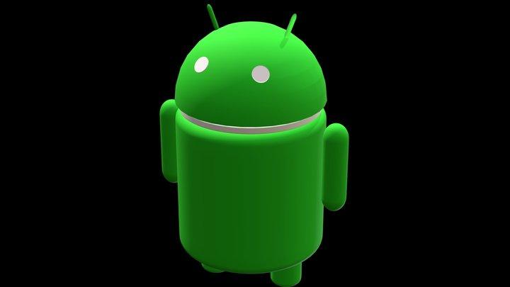 Mascote Google Android 3D Model