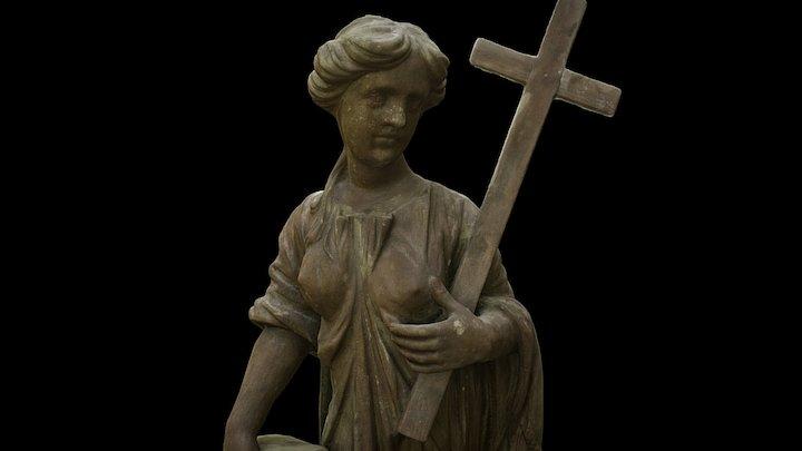 Usk, Martna kirik 3D Model