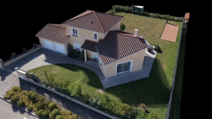 Maison 3D témoin WebMy3D.com 3D Model