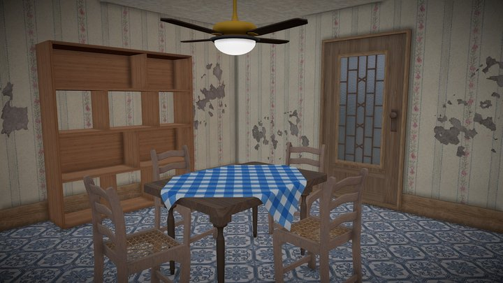 Cenário para animação (Scenery for animation) 3D Model