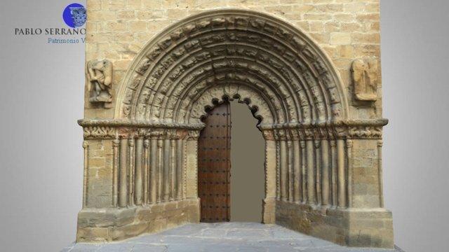 Iglesia de Santiago (Puente la Reina-Gares) 3D Model