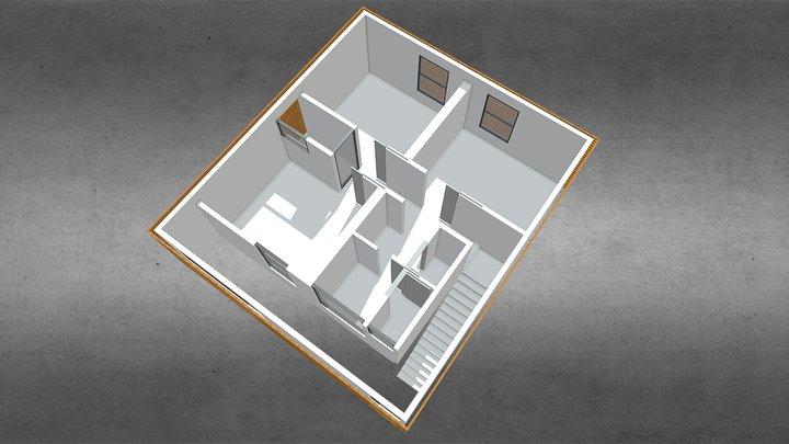 H S Model 1 3D Model