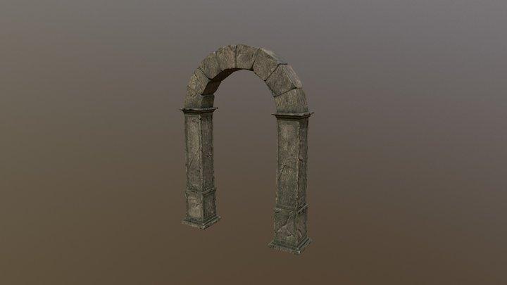 Ancient Ruins Asset - Arch 3D Model