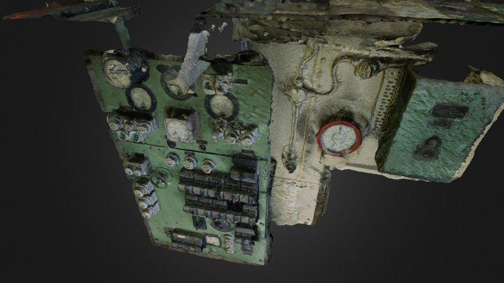 Maskinrom Hovedtavle 3D Model