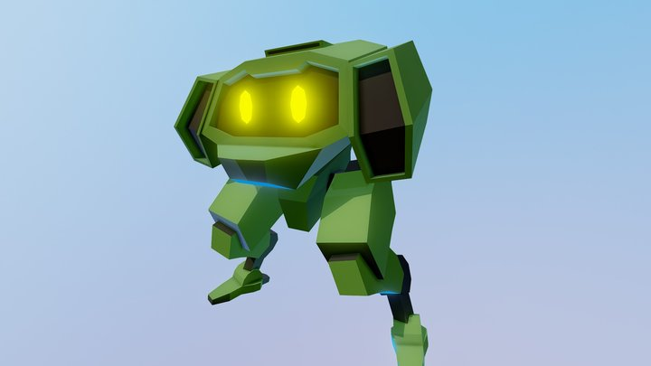 Mech Draft 02 3D Model