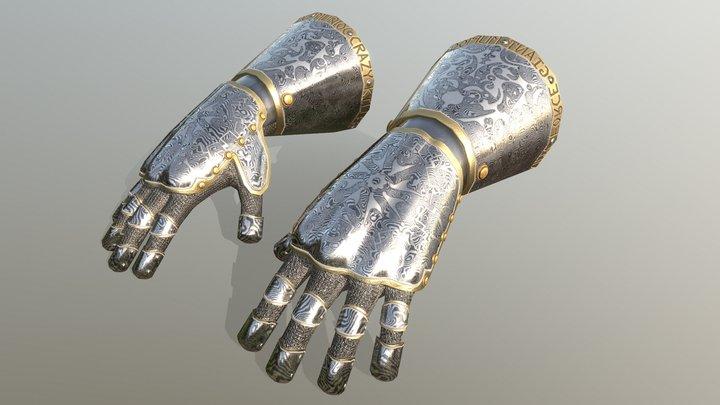 HIE Hand Armor D180427 3D Model