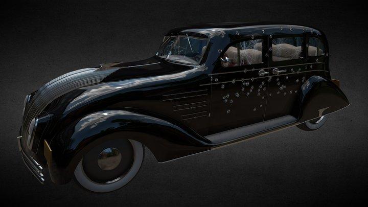 Bloody Mafia Car 3D Model