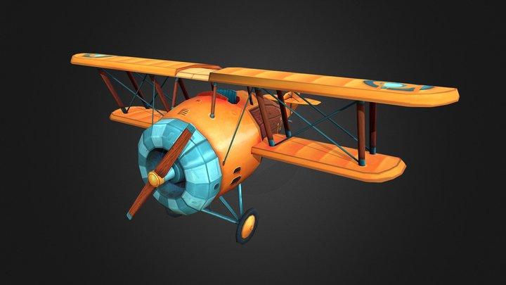 Airplane R-2 3D Model