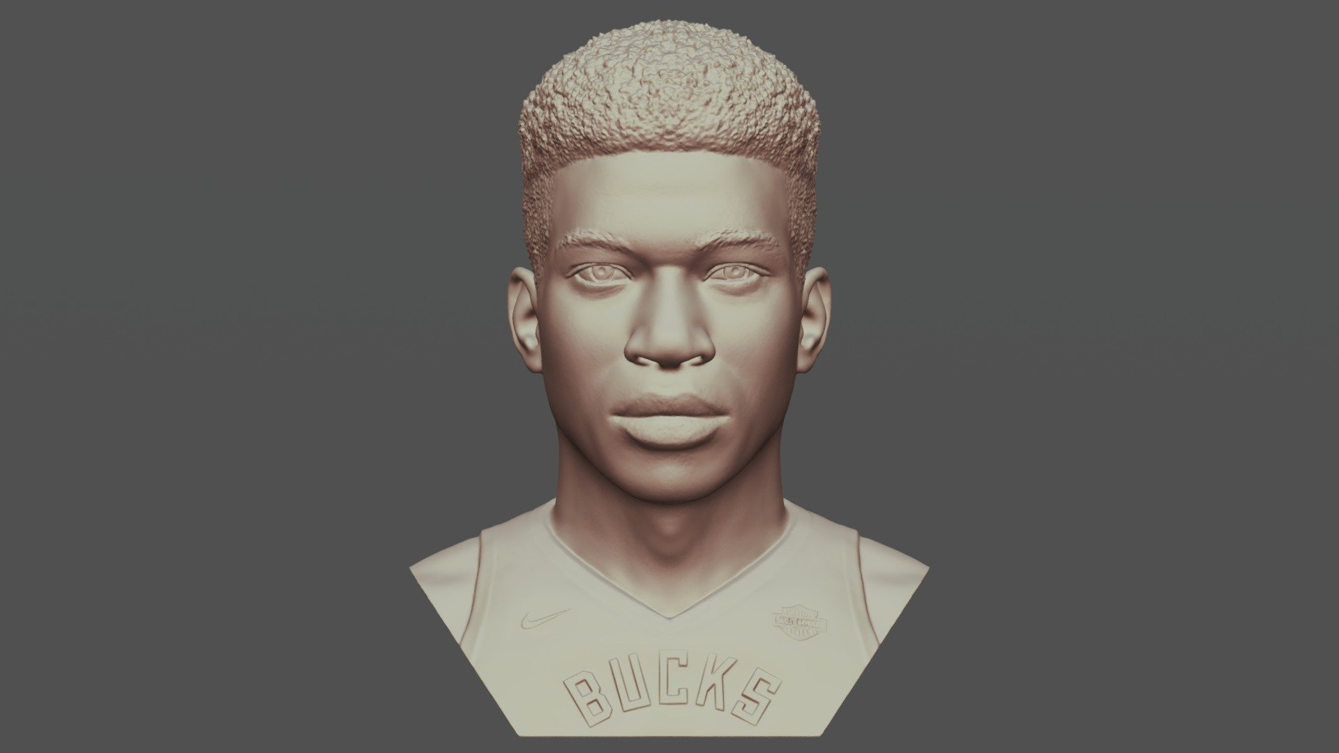 Giannis Antetokounmpo bust 3D printing - Buy Royalty Free ...