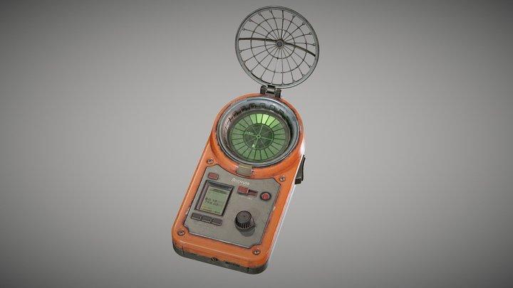 """S.T.A.L.K.E.R. """"Bear"""" detector (Fan Art) 3D Model"""