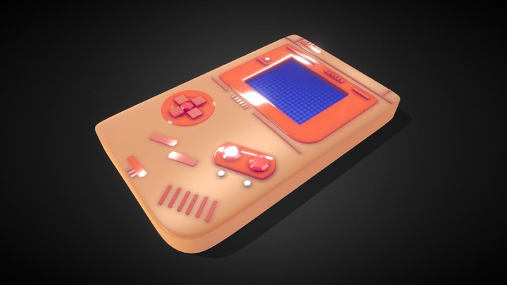 Video Game - 6th day, #3December2020 challenge 3D Model