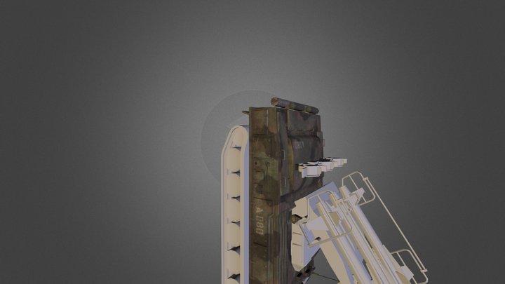 2K12 Kub 3D Model
