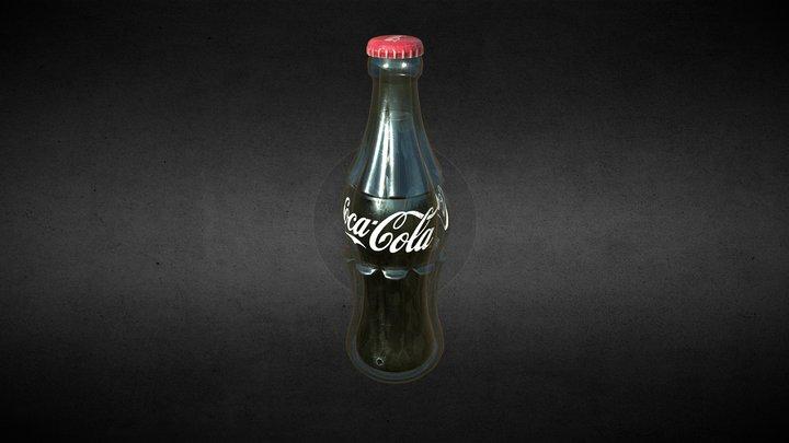 1937 Coke Bottle 3D Model
