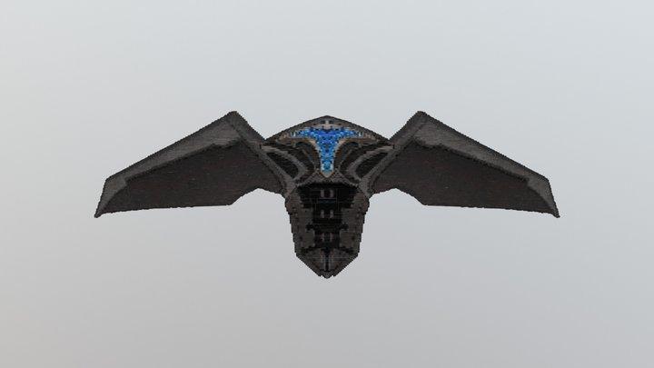 Cyber Wings for Minecraft   LapisDemon 3D Model