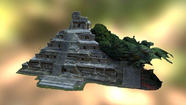 Edificio de los Cinco Pisos 3D Model